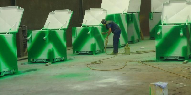 Pintura industrial Líquida